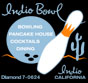 Indio Bowl - Vintage bowling alley - Indio, California circa. 1960s